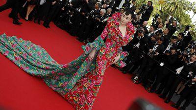 Chinese actress Viann Zhang. (AAP)