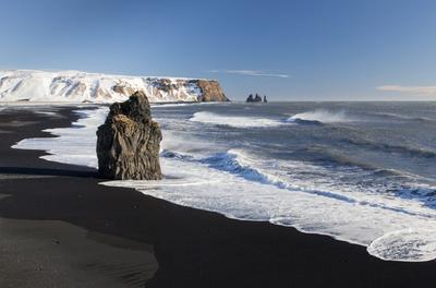 6. Reynisfjara Beach – Vík í Mýrdal, Iceland