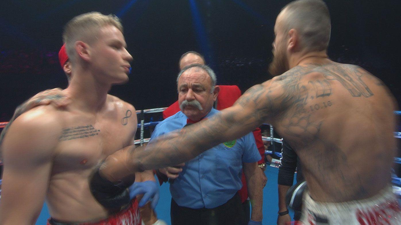 Bad blood between New Zealanders spills over in heated pre-fight exchange