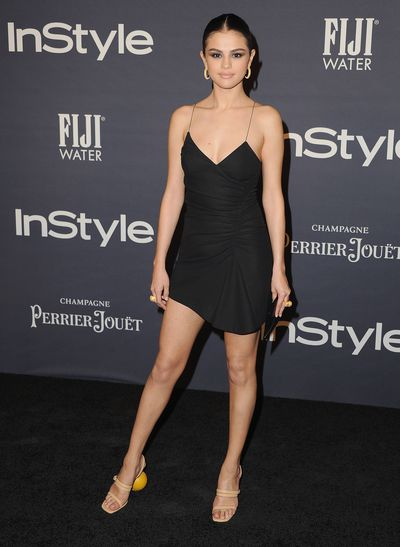 Selena Gomez in Jacquemus at the 2017 InStyle Awards