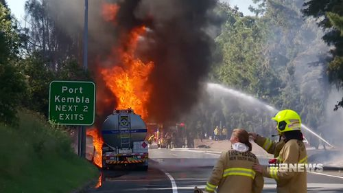 Northbound lanes of the M1 have reopened. Southbound remain closed.