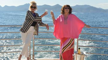 Sweetie, darling, Patsy and Eddy have started filming their new movie and it's going to be Absolutely Fabulous