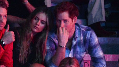 Prince Harry and Cressida Bonas split