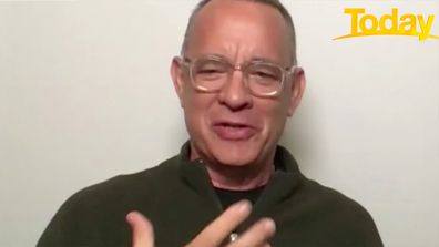 Tom Hanks said Today host Ally Langdon 'broke his heart' after comment about new movie