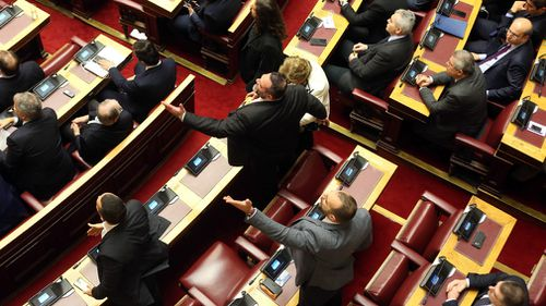 It has faced fierce opposition in both countries, and recently cost Prime Minister Alexis Tsipras his parliamentary majority after a small right-wing party quit the governing coalition in protest.