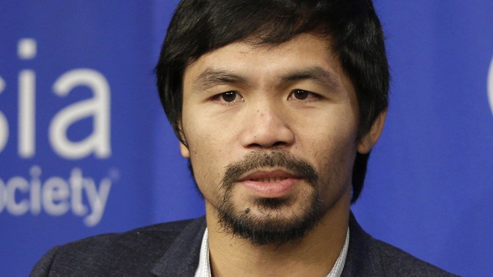 Manny Pacquiao. (AAP)