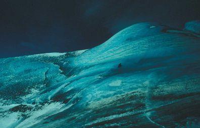 Blue iceberg, Antarctica