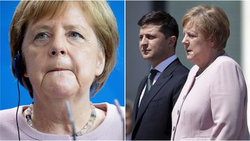 German Chancellor Angela Merkel has blamed dehydration for her recent trembling during a ceremony on Berlin to welcome new Ukrainian   President Volodymyr Zelensky.
