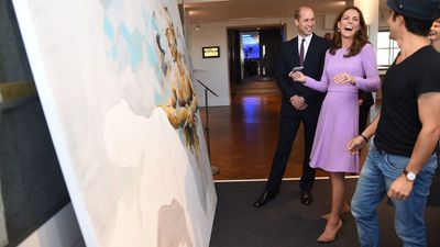 Kate Middleton with Prince William in London, October 9, 2018