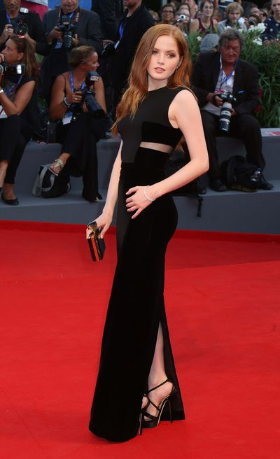 6. Ellie Bamber in Tom Ford