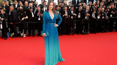 Belgian actress Marie Gillain. The festival's opening film, played out of competition, was La Tete Haute. (AAP)