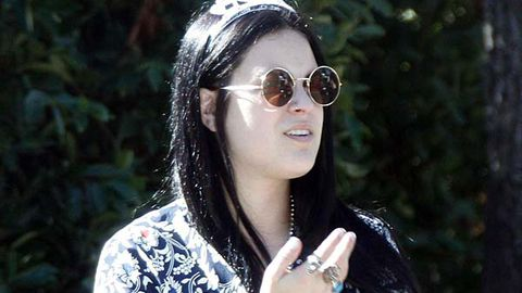 Demi Moore's daughter in topless joint-smoking photo scandal