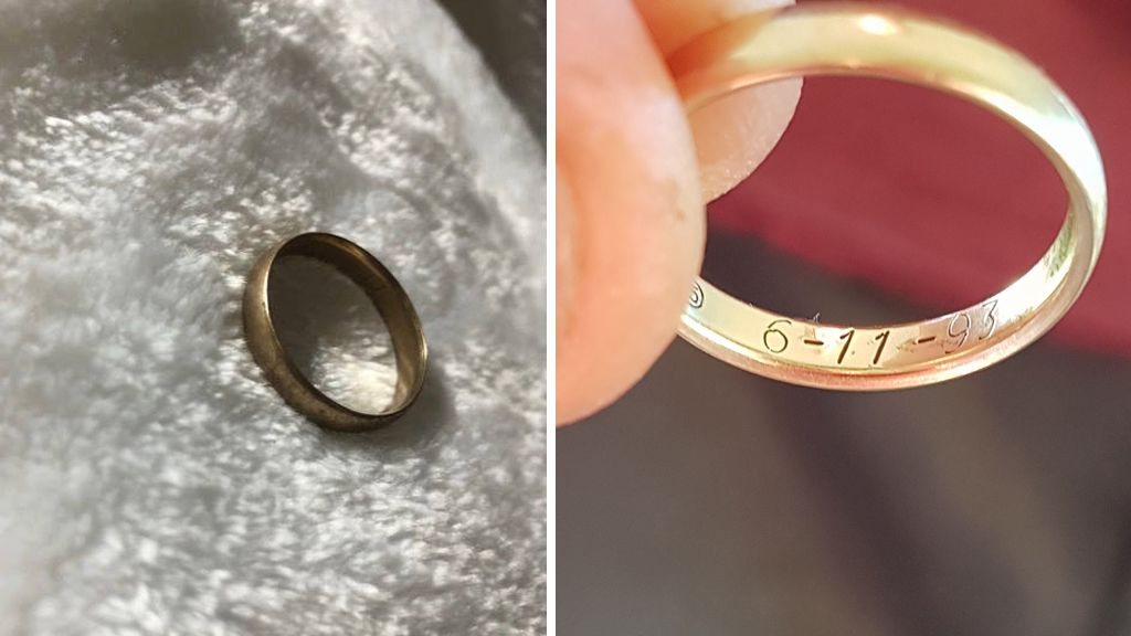 girl finds wedding ring owner - Lost Wedding Ring