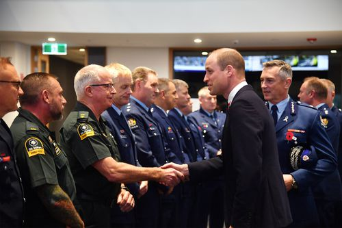 The Duke of Cambridge will also visit survivors of the Christchurch mosque shootings.