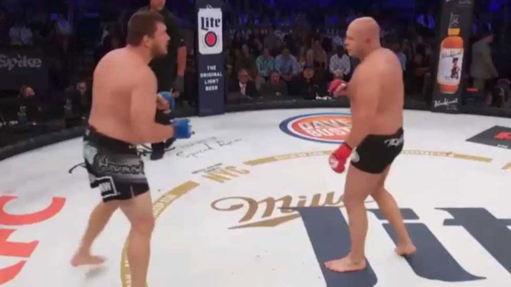 MMA fighters knock each other out simultaneously at Bellator NYC