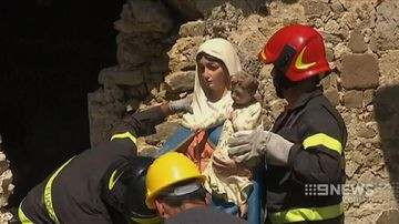 VIDEO: Pope to visit region devastated by Italian earthquake