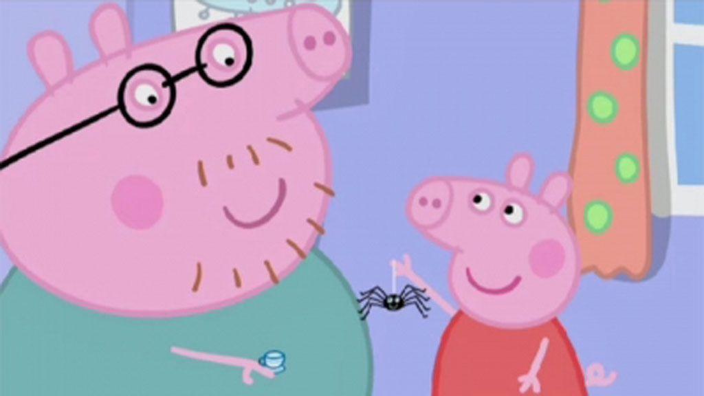 Peppa Pig spiders