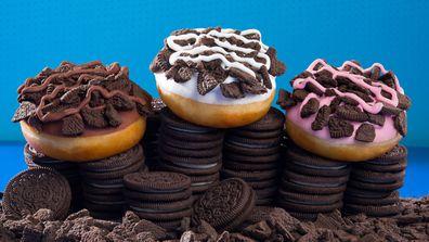 Krispy Kreme Oreo doughnut collaboration