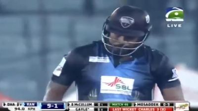 West Indies star Chris Gayle hits Dhaka for six in record T20 knock in Bangladesh Premier League