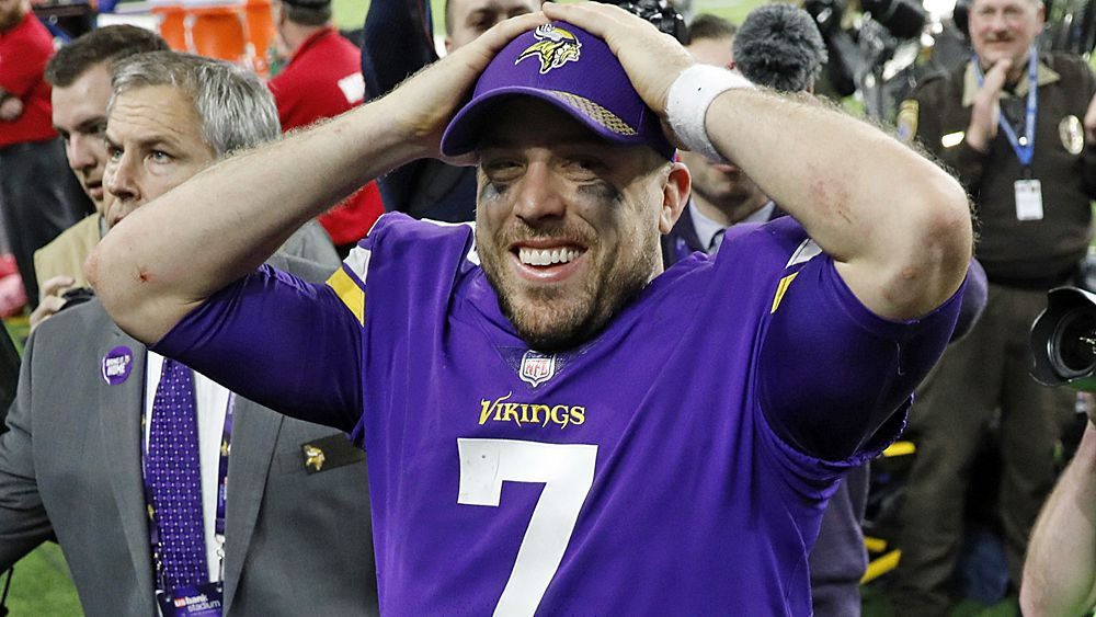 NFL Playoffs: Minnesota Vikings score walk-off touchdown to beat New Orleans Saints