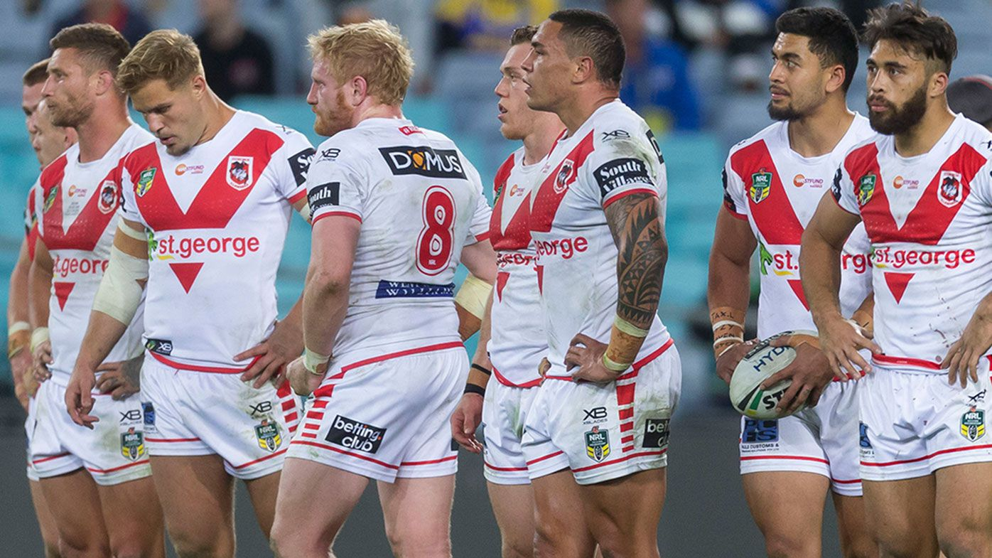 St George Illawarra are under fire after a dismal second half of the NRL season