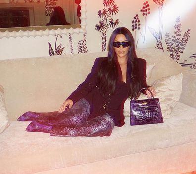 Kim Kardashian, collaboration, Carolina Lemke sunglasses, event
