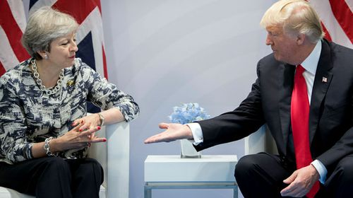 Trump told May he wants 'better reception'