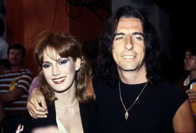 Alice Cooper and wife Sheryl Goddard