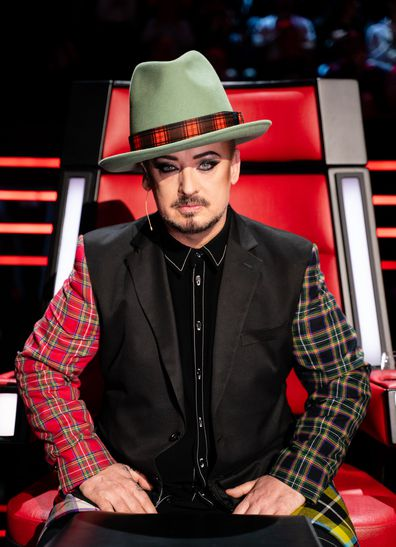 Boy George on The Voice 2019