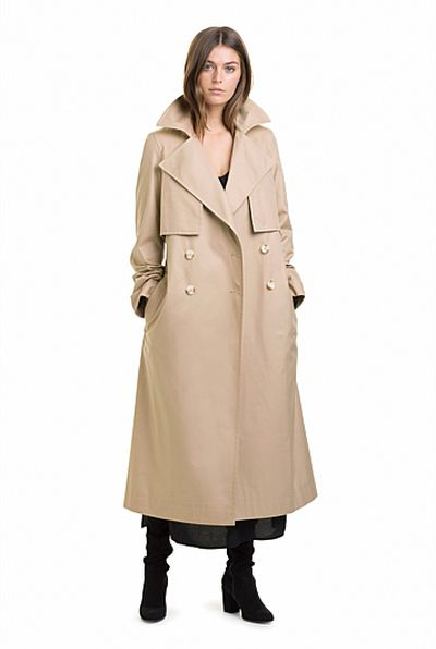 """<a href=""""https://www.countryroad.com.au/shop/woman/clothing/jackets-and-coats/60207231/Cotton-Longline-Trench.html"""" target=""""_blank"""">Country Road</a> trench, $349<br />"""