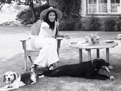 Meghan Markle and her dogs