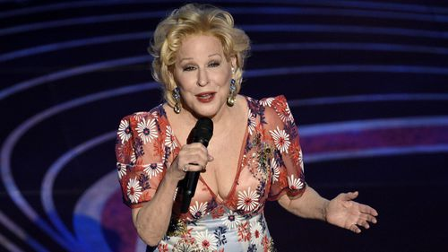 Bette Midler performing at the Oscars in February.