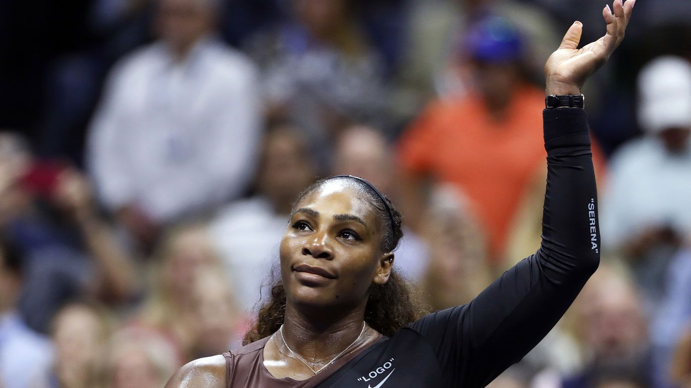 Serena beats Venus in US Open rout