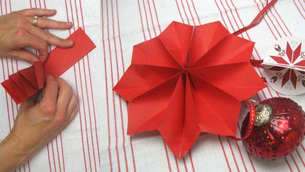 Christmas pinwheel decorations