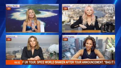 Mel B says she had sex with fellow Spice Girl Geri Halliwell