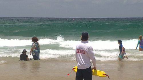 A man was rescued after getting caught in a rip at North Cronulla this morning. (9NEWS)