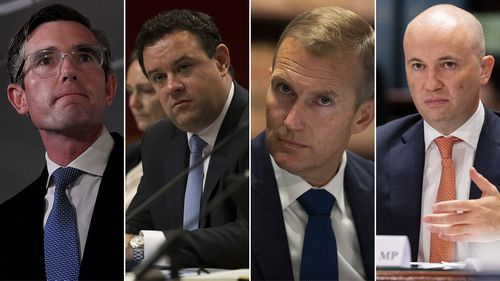 Dominic Perrotet, Stuart Ayres, Rob Stokes and Matt Kean could all be the next premier of NSW.