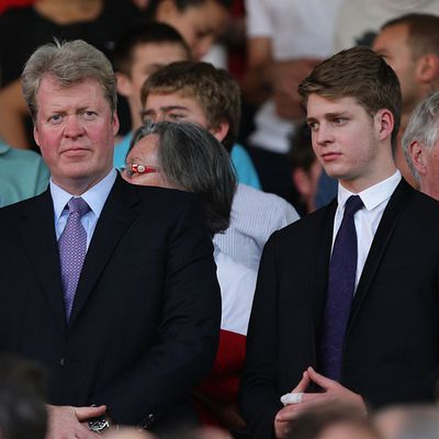 At a Barclays Premier League match, October 1, 2011