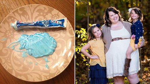 US mother teaches daughter valuable life lesson using tube of toothpaste