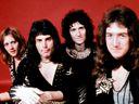 Roger Taylor, Freddie Mercury, Brian May and John Deacon