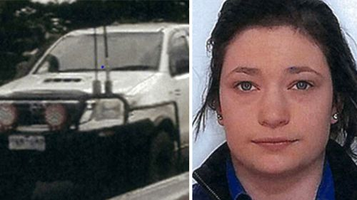 The body found in floodwaters is believed to be that of missing woman Nina.