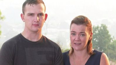 Family victim to bushfire scam