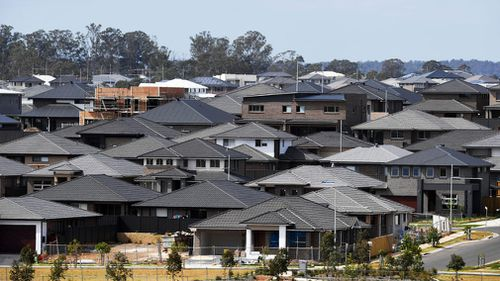 Home price growth in the capital cities has continued to slow on a quarterly basis. (AAP)