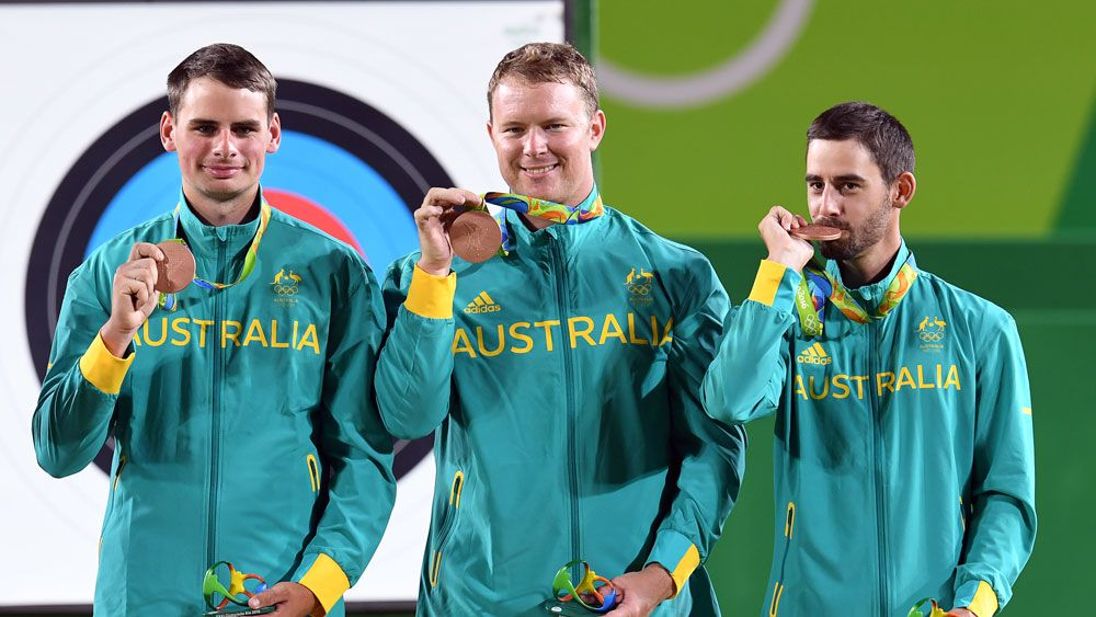 Rio Olympics: Aussie archers win historic medal at Rio Olympics