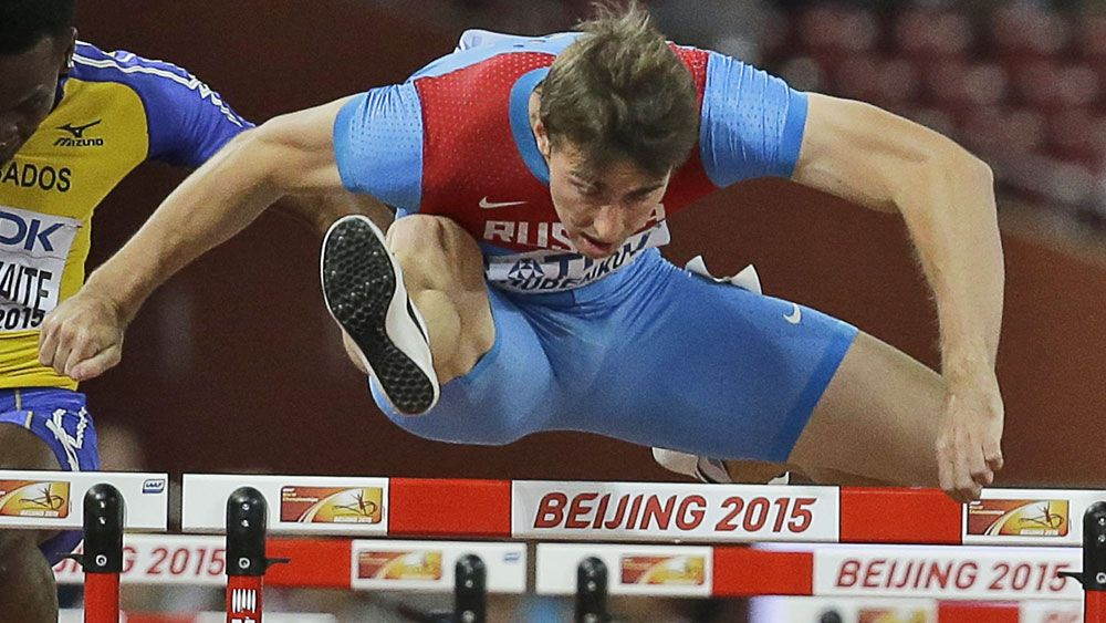 Russian hurdler Sergey Shubenkov is one of the leading athletes to miss out on international competition. (AAP)