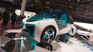 VIDEO: Paris Motor Show showcases the cars of the future