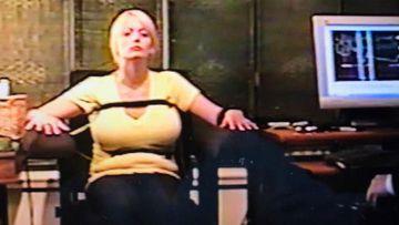 Stormy Daniels undergoing a lie detector test in 2011. (Michael Avenatti)