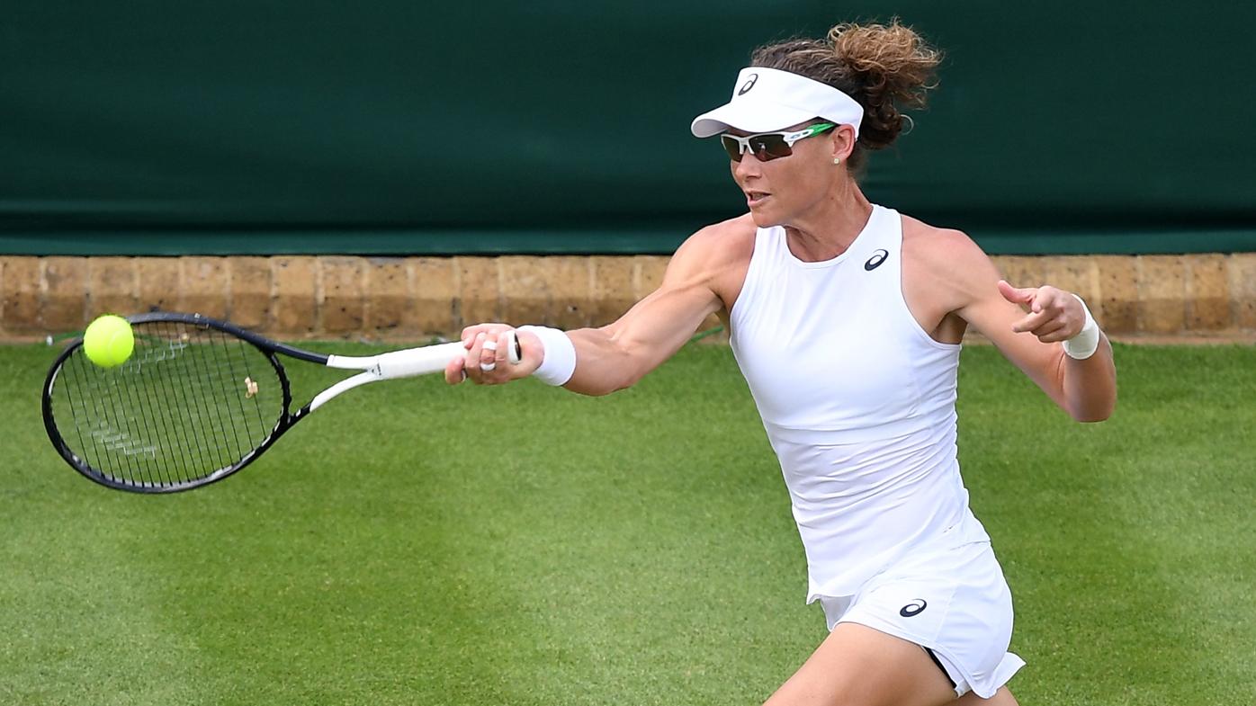 More Wimbledon disappointment for Sam Stosur with Carla Suarez Navarro defeat