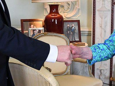 Queen photos Boris Johnson Buckingham Palace