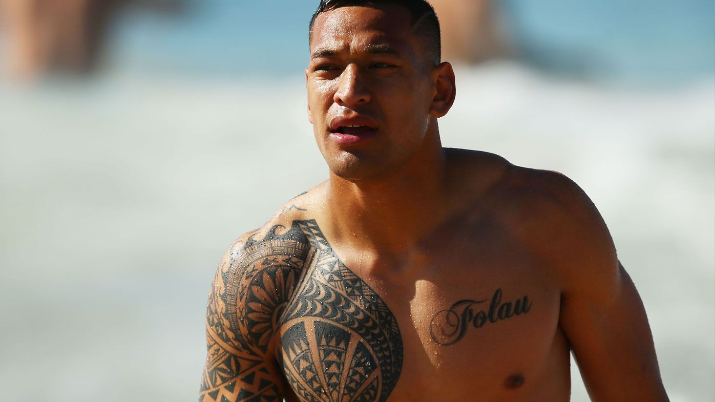 Rugby: Wallabies Israel Folau and Kurtley Beale to conceal tattoos at World Cup